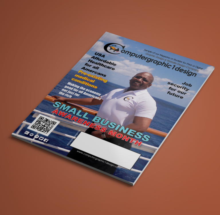 Magazine Cover Design by Computergraphic1design