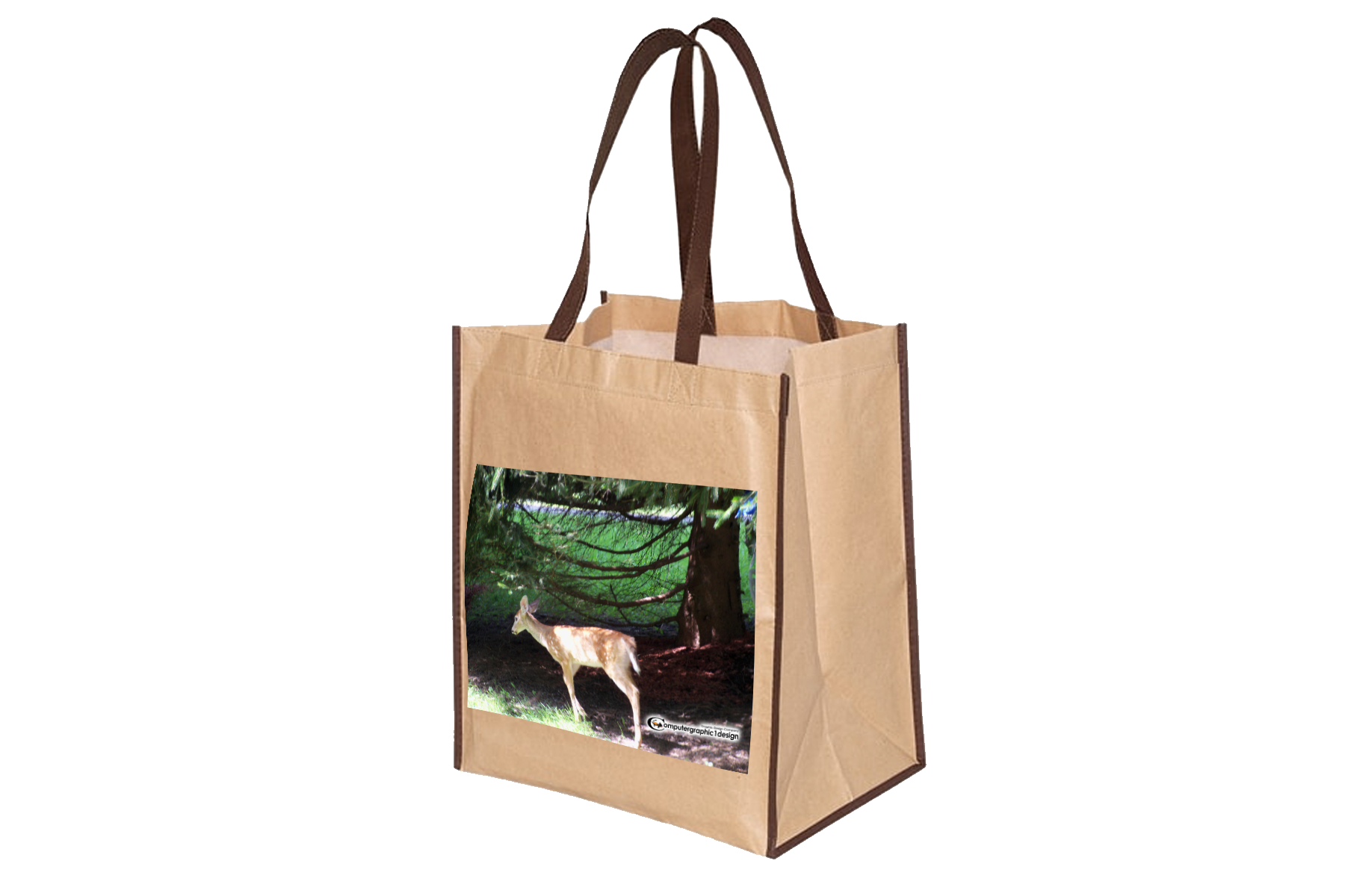 Custom recycled grocer.py bag png